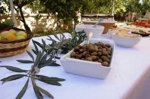 Olive-tasting